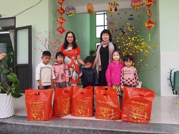 Cảm ơn các mạnh thường quân giúp cho các cháu trường MG Đại Hưng